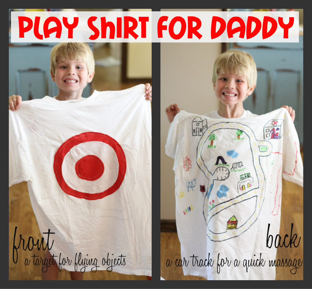 """Play Shirt"" for Daddy"