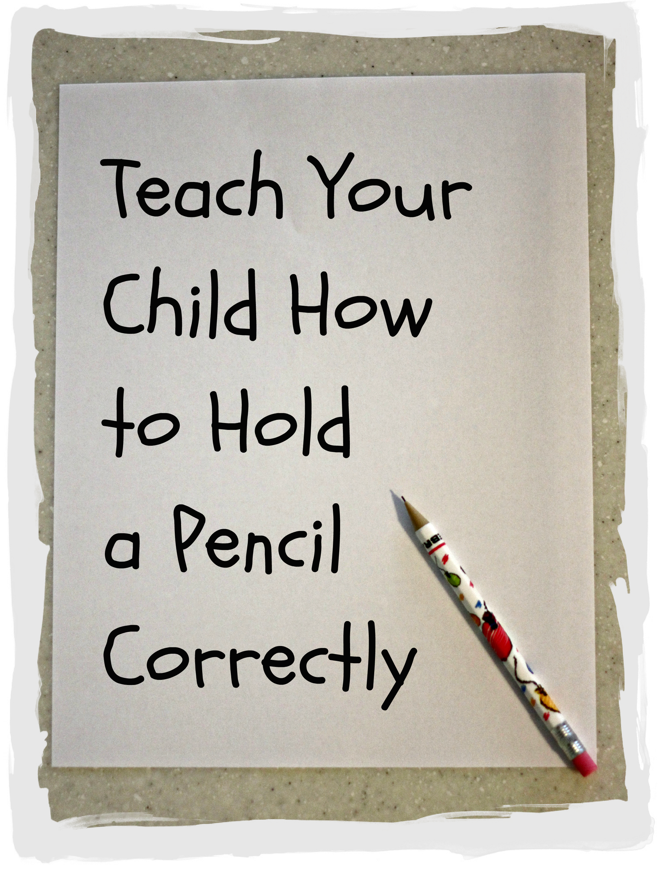 Correct pencil grip i can teach my child learning thecheapjerseys Image collections