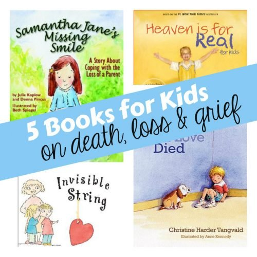 5 Books for Kids on Death Loss Grief 500x500 5 Childrens Books that Deal with Death, Loss and Grief