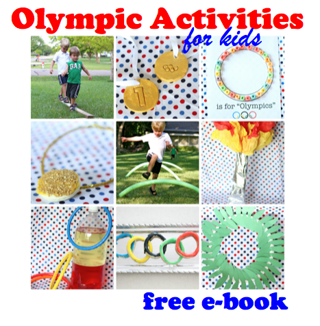 Free eBook: Olympic Activities for Kids - I Can Teach My Child!