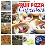 Fruit Pizza Cupcakes