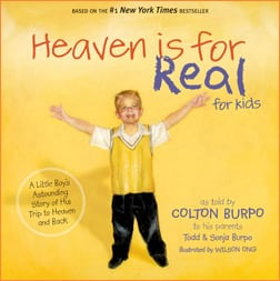 Heaven is for Real for Kids 5 Childrens Books that Deal with Death, Loss and Grief
