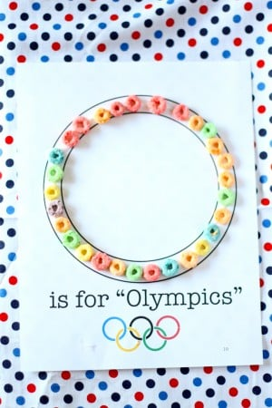 IMG 1980 300x450 O is for Olympics Craft