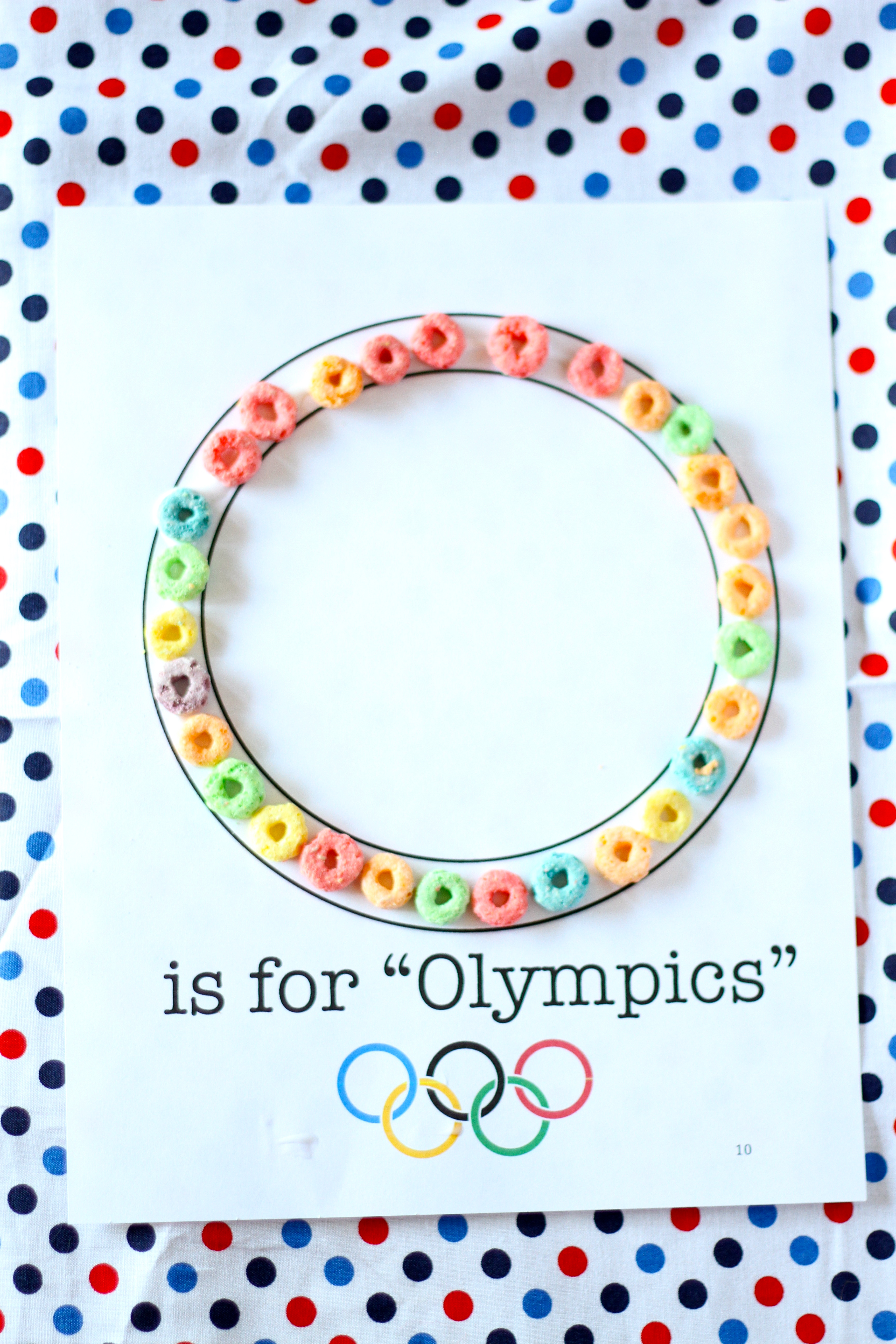 O Is For Olympics Craft I Can Teach My Child