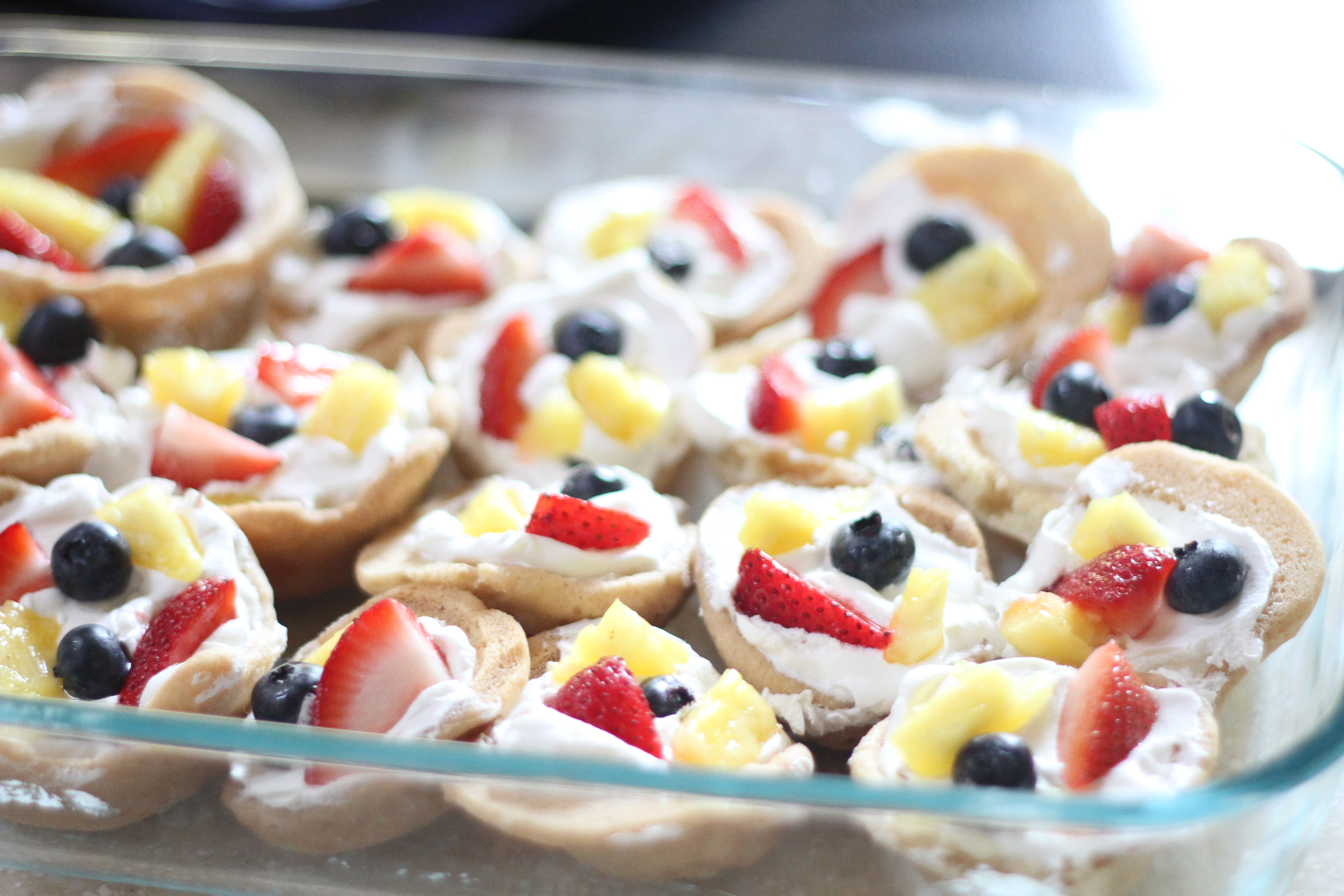 Fruit Pizza Cupcakes - I Can Teach My Child!
