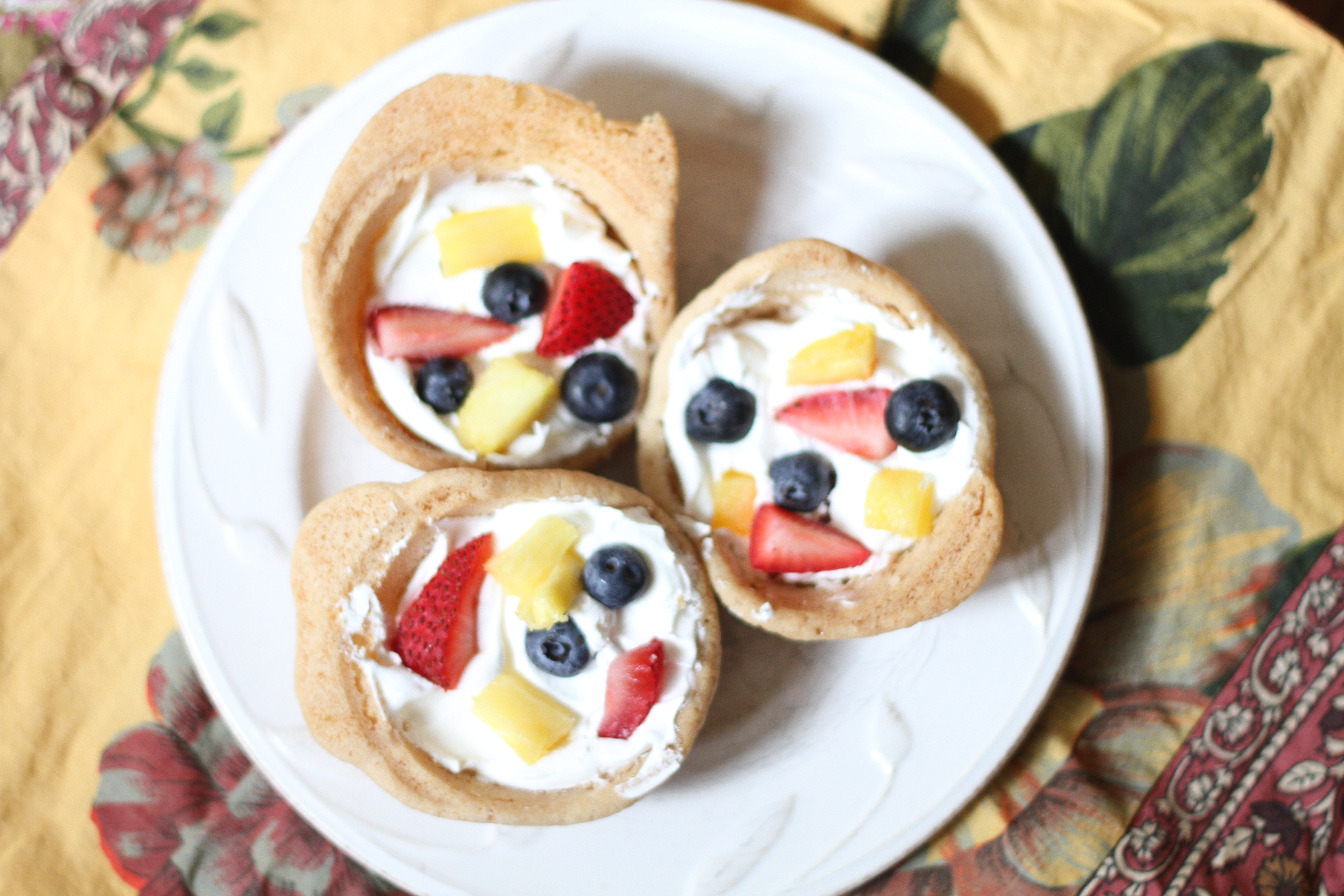 Fruit Pizza Cupcakes I Can Teach My Child