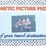 Cookie Sheet Travel Activity:  Magnetic Picture Puzzles of Your Destination