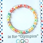 O is for Olympics Craft 150x150 Alphabet