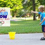 Olympic Javelin Throw for Kids 150x150 Bean Bag Stomp & Catch