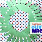 Olympic Olive Wreath Craft