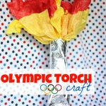 Olympic Torch Craft1 150x150 Simple Brown Paper Valentines (Filled with Candy)