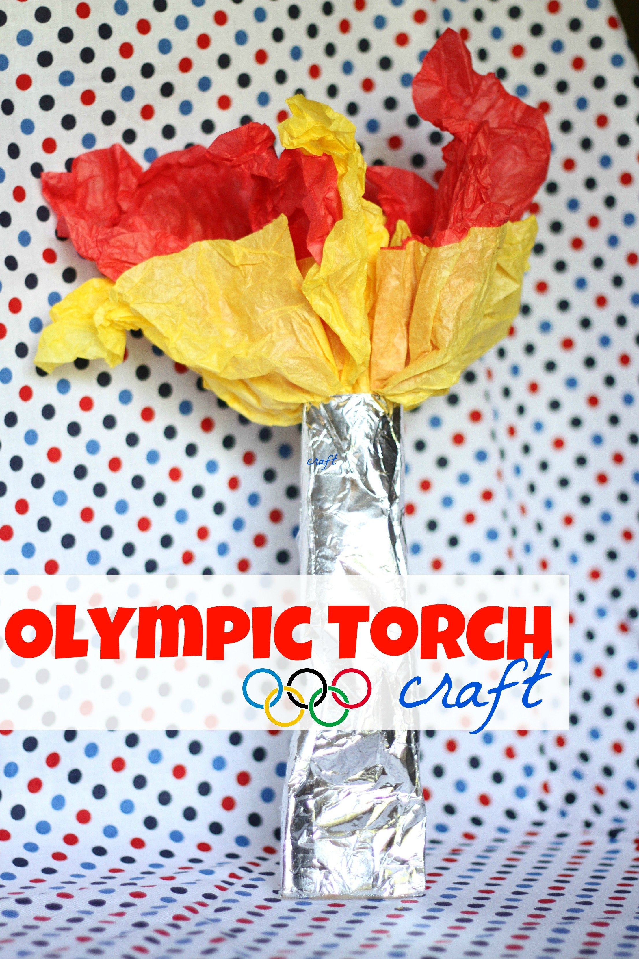 Olympic Torch Craft I Can Teach My Child