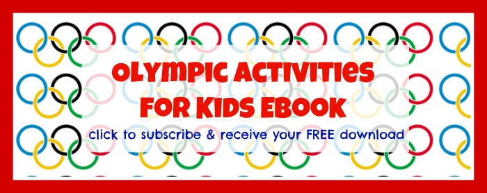 Subscribe to get the free eBook2 O is for Olympics Craft