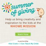 Kiwi Crate Summer of Giving