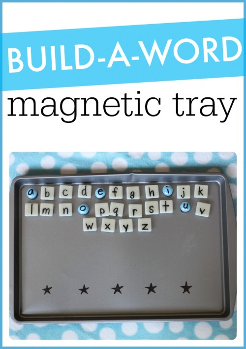 Build-A-Word Magnetic Tray