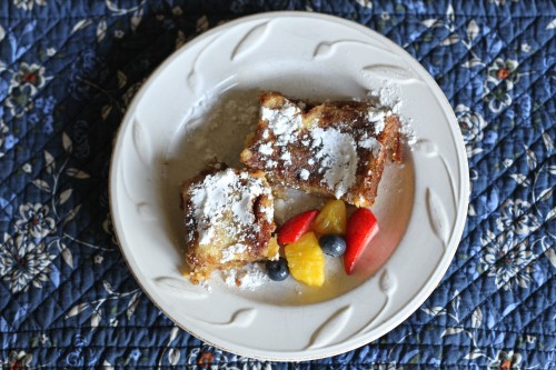 IMG 4055 500x333 French Toast Casserole