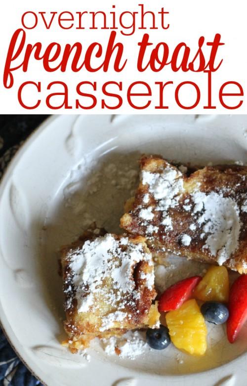 Overnight French Toast Casserole