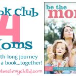 Book Club for Moms:  Week 2