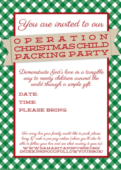 How To Write A Letter To Operation Christmas Child