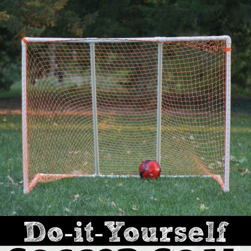 How to Make a DIY Soccer Goal for Kids