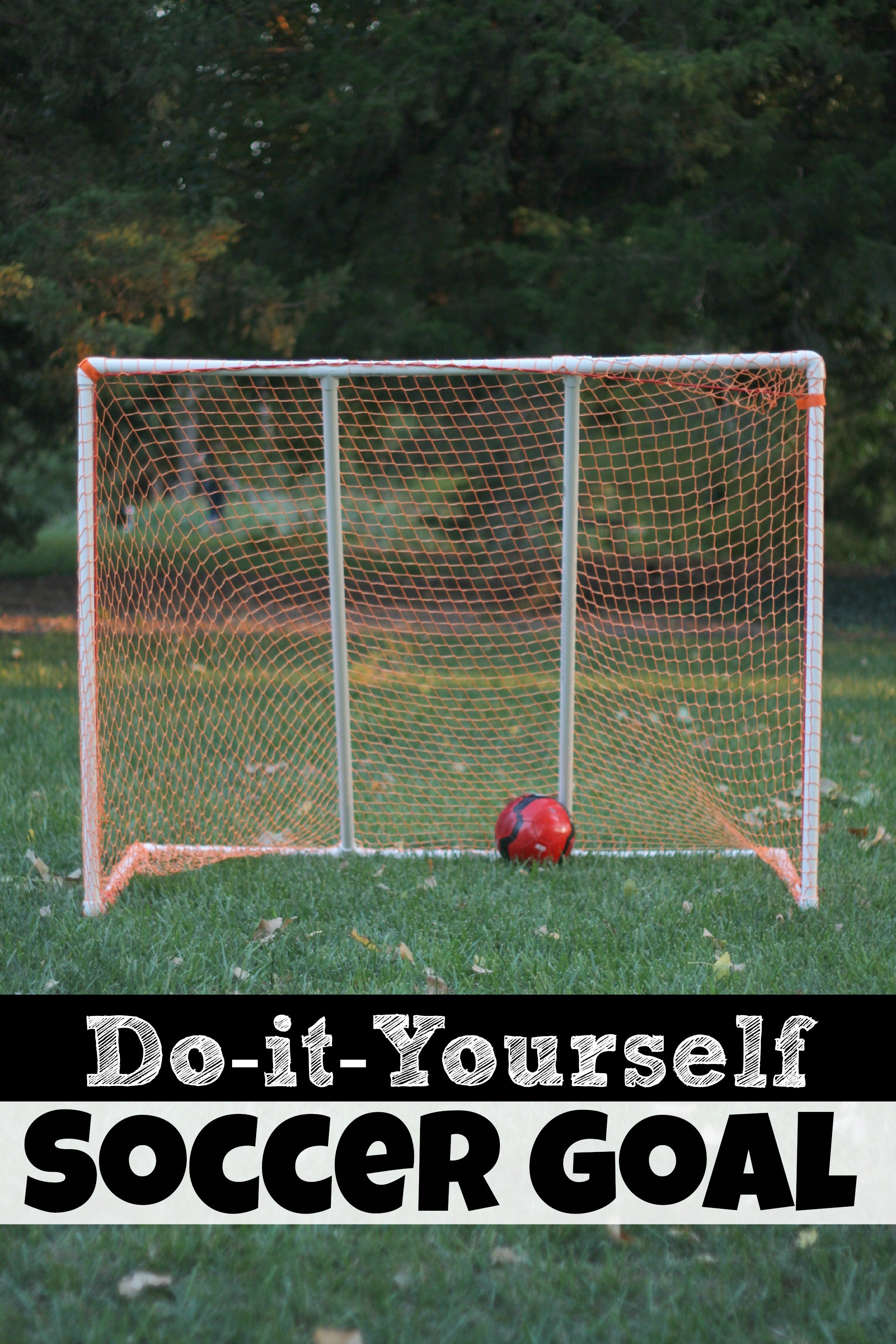 How To Make A Soccer Goal For Kids