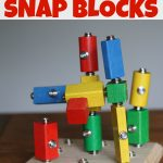 DIY Wooden Snap Blocks1 150x150 Build Your Own Snowman (in a bag)