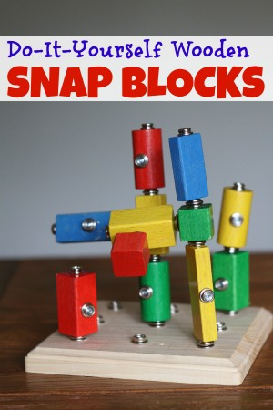 DIY Wooden Snap Blocks1 300x450 DIY Wooden Snap Blocks