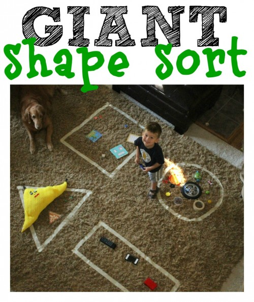 Giant Shape Sort 500x594 Giant Shape Sort
