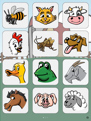 10 abc alphabet phonics designed for both iphone and ipad at first glance this app is pretty basic the app tells the child to touch a certain letter - Animal Pictures For Toddlers