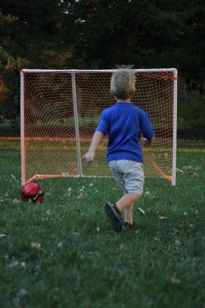 IMG 5029 300x450 How to Make a PVC Soccer Goal