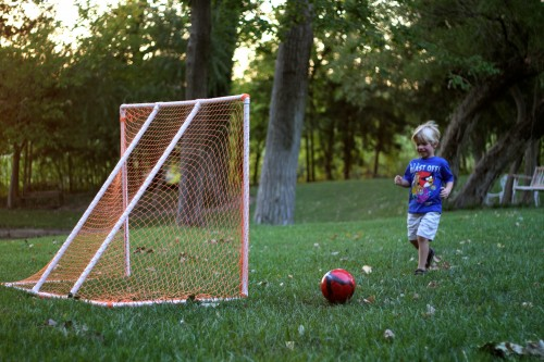 IMG 5037 500x333 How to Make a PVC Soccer Goal