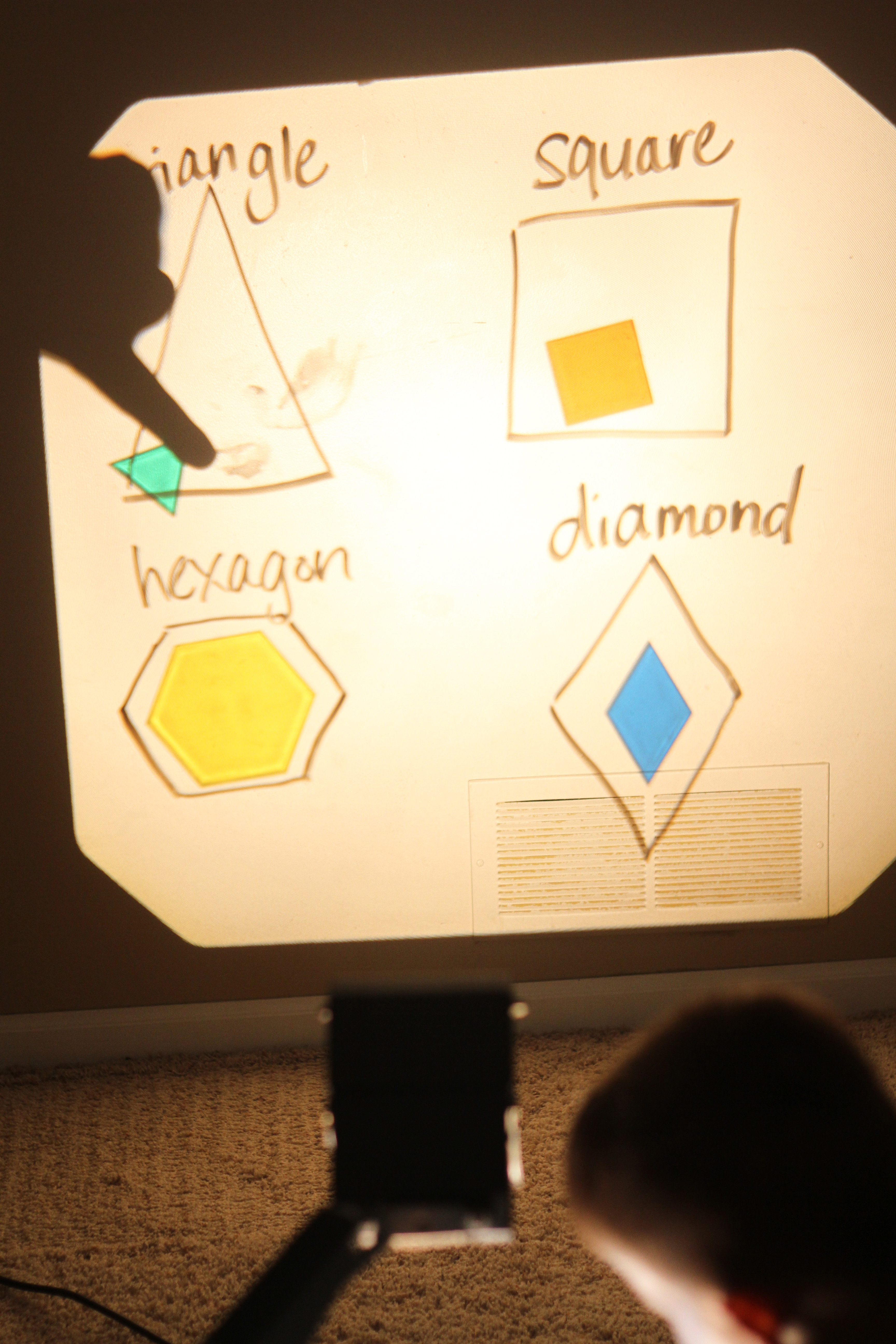 Overhead Projector Learning - I Can Teach My Child!