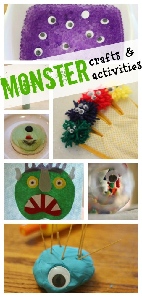 Monster Crafts Activities 480x1000 Monster Crafts & Activities