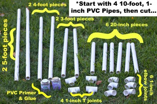 how to make a soccer goal