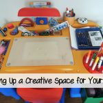 Setting up a Creative Space for Your Child