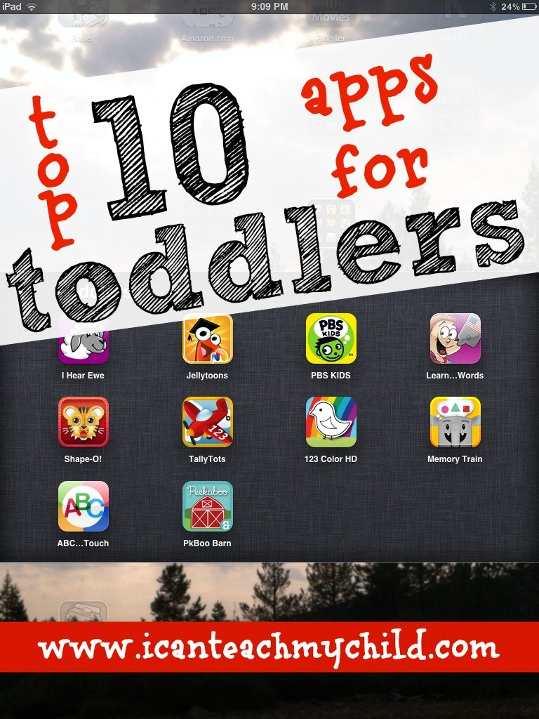 Top 10 Apps for Toddlers