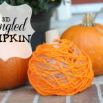 3D Tangled Pumpkin 150x150 Pounding Golf Tees into a Pumpkin