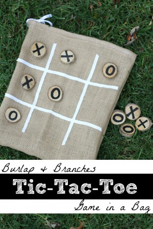 Burlap Branches Tic Tac Toe Game in a Bag 300x450 Burlap and Branches Tic Tac Toe Game in a Bag