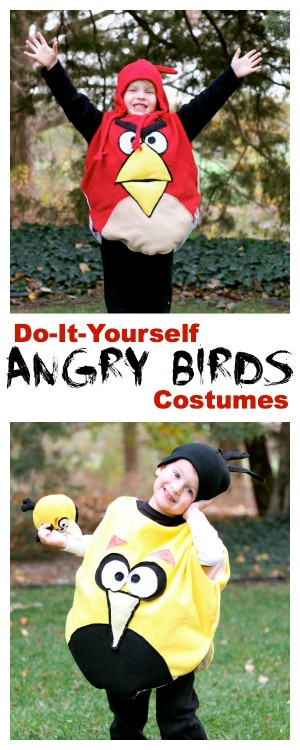 DIY Angry Bird Costumes 300x750 DIY Angry Bird Costumes