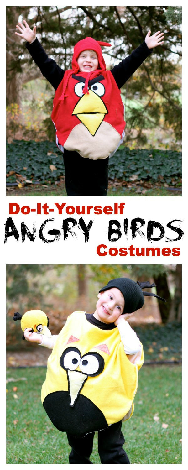 Diy angry bird costumes i can teach my child diy angry bird costumes solutioingenieria Image collections