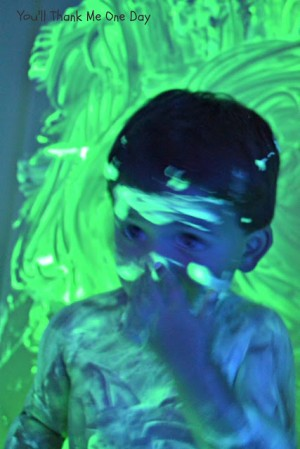 Glow bath paint 3 300x449 Show and Share Saturday Link Up!