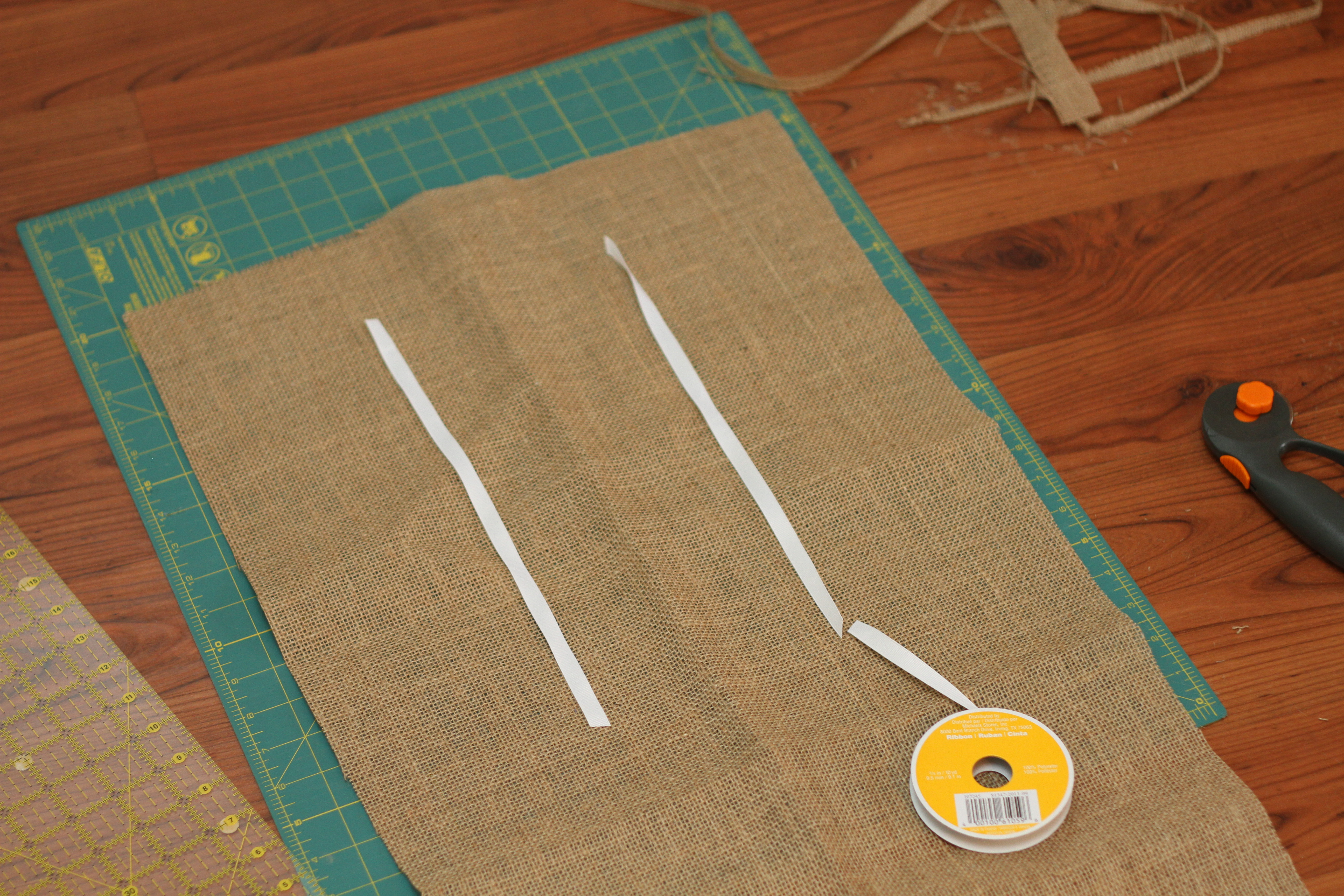 Burlap And Branches Tic Tac Toe Game In A Bag I Can