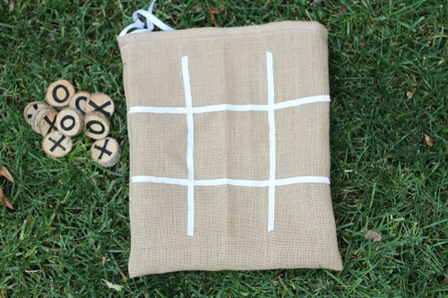 IMG 5900 500x333 Burlap and Branches Tic Tac Toe Game in a Bag