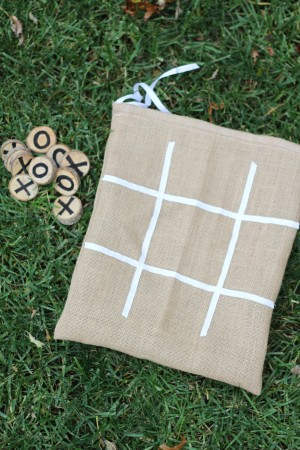 IMG 5901 300x450 Burlap and Branches Tic Tac Toe Game in a Bag