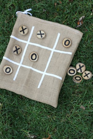 IMG 5917 300x450 Burlap and Branches Tic Tac Toe Game in a Bag