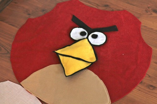 IMG 5968 500x333 DIY Angry Bird Costumes