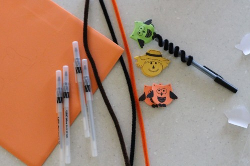 IMG 6199 500x333 Easy Fall Pen/Pencil Toppers