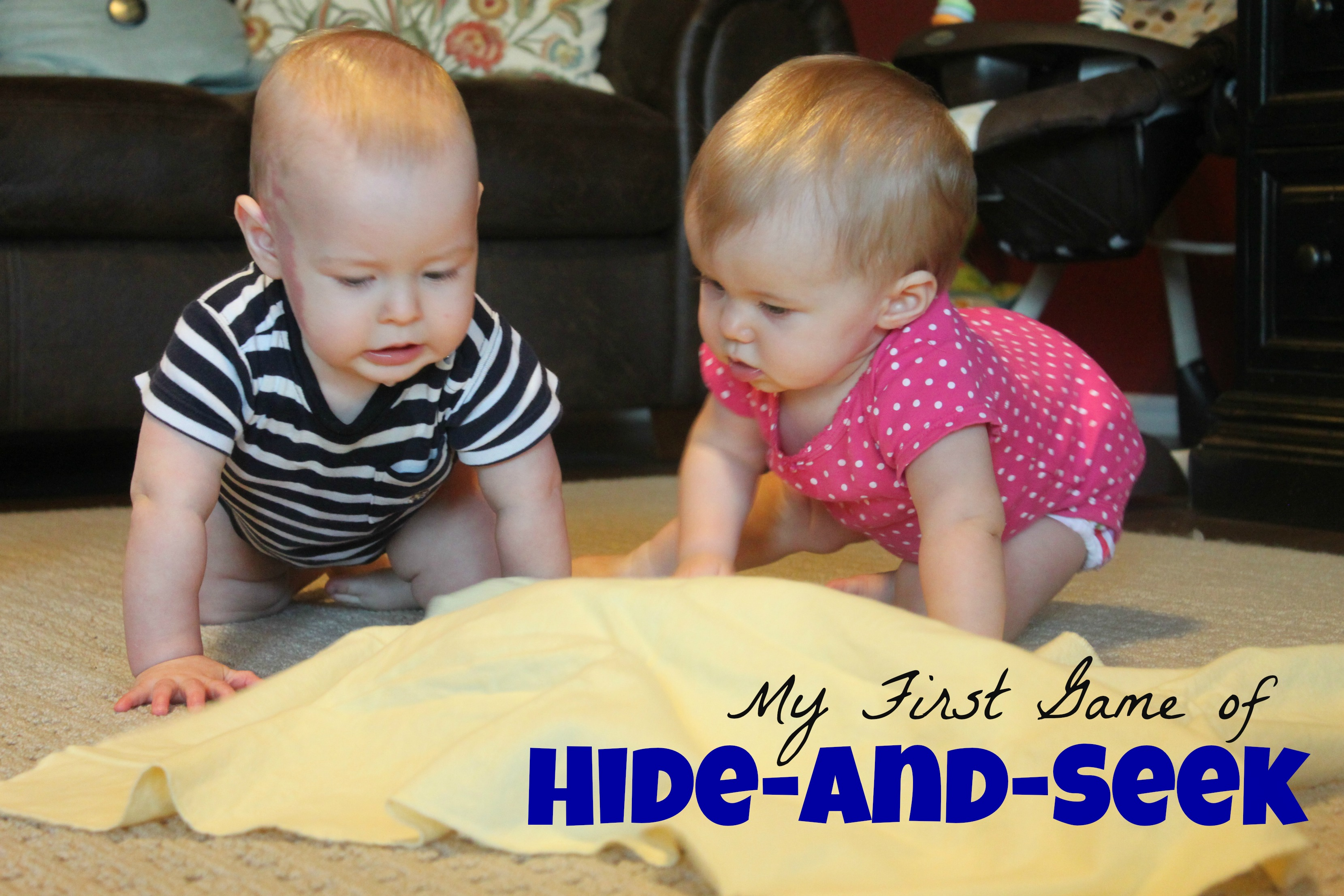 My First Game of Hide-and-Seek