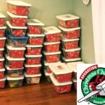 Our Operation Christmas Child Packing Party!