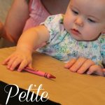 Petite Picasso Scribbling with Baby 150x150 Learning about Spatial Awareness with Boxes